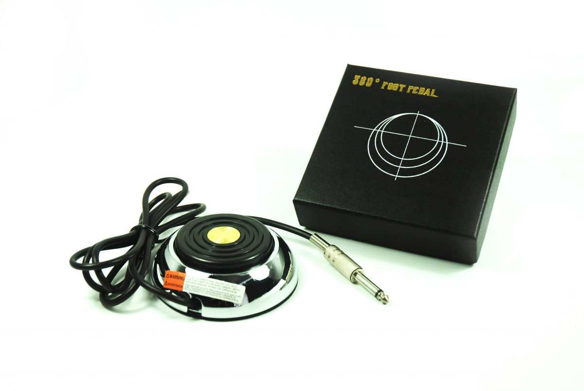 360° Tattoo Foot Pedal w5