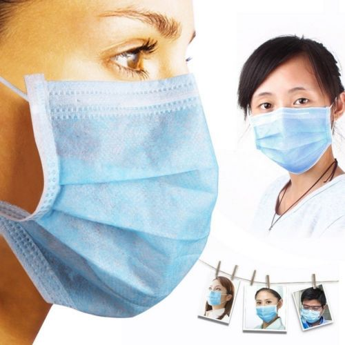 Blue Face Mask ( 50 in Box ) Image