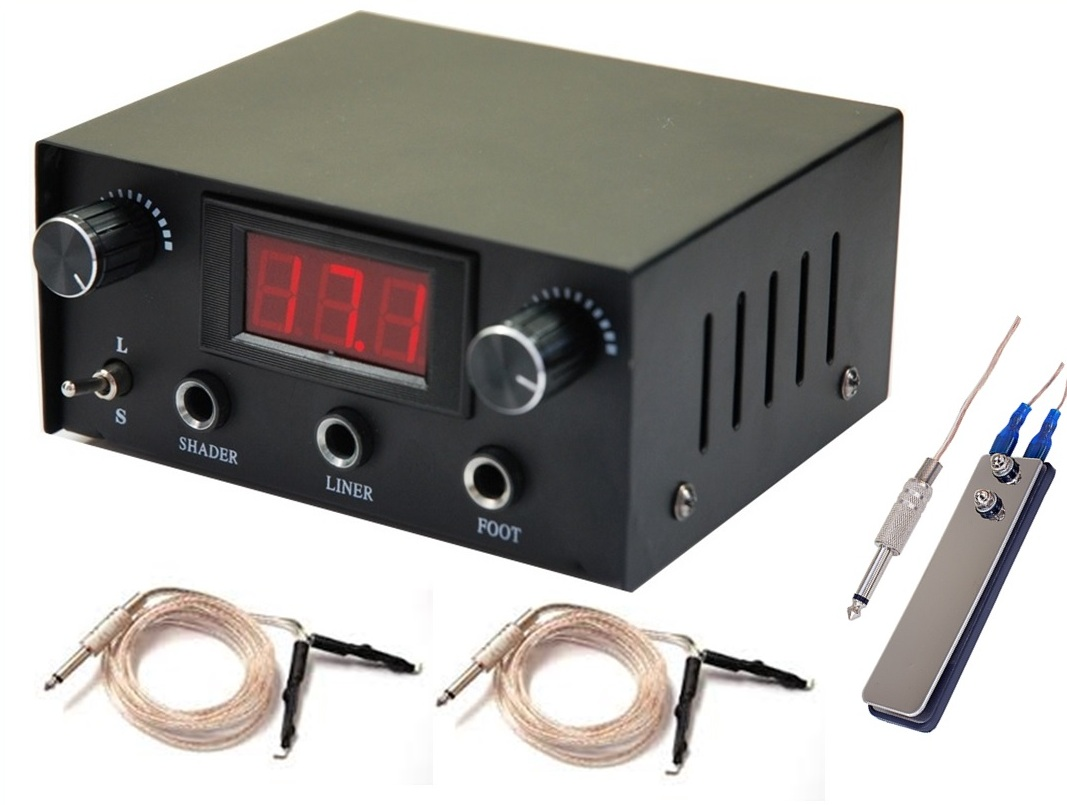 Dual Digital LCD Power Supply Image
